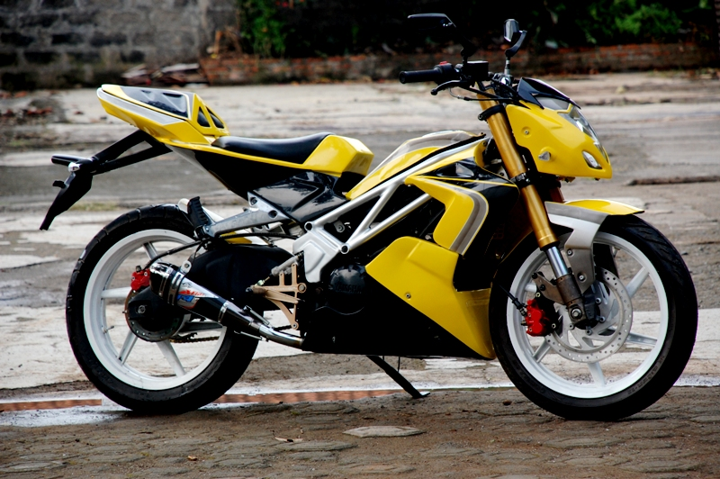 Modifikasi Jupiter Mx 2013 Warna Ungu