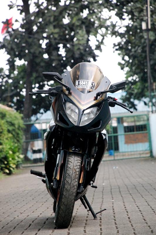 warah modif style Robot Scorpio motor handal title=