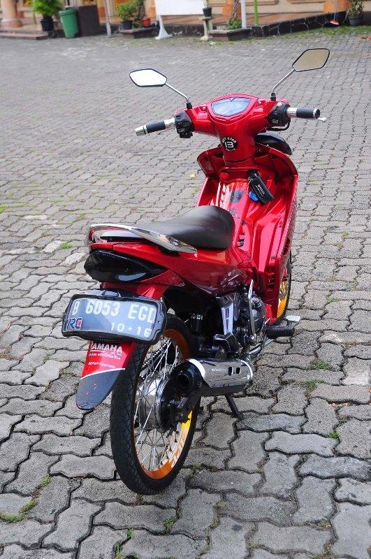 Wareh Jupiter MX 2006 modif RED mini | informasi