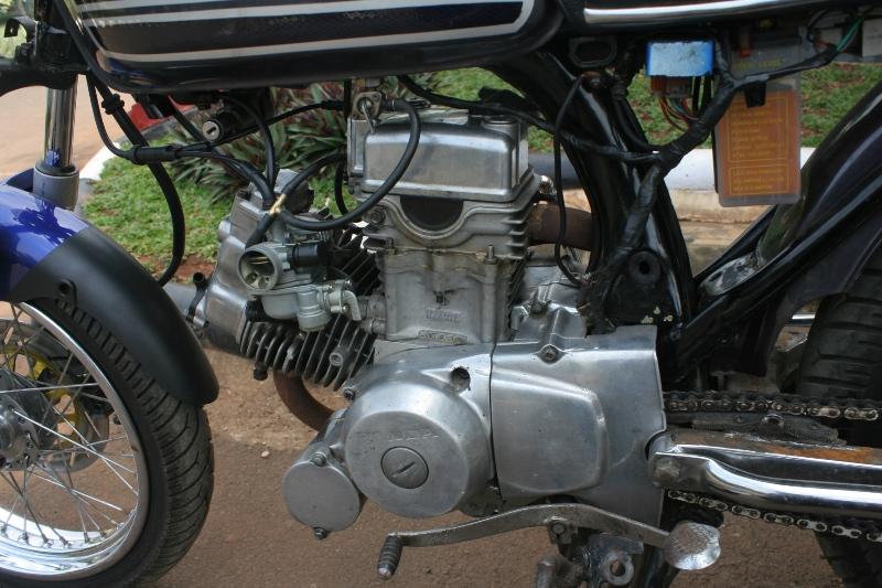 Wareh Honda CG 100 76 L-Twin ajib | informasi internetmu