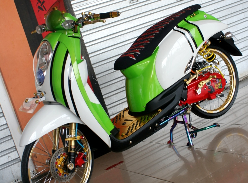 warah Honda Scoopy 2010 Bodi Kembung Kaki Ceking handal title=