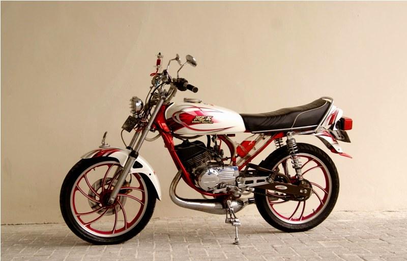warah modif RX K 125 1980 ala bapak guru handal title=
