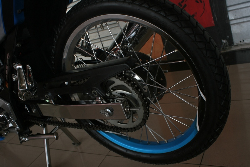 warah modif Satria FU: Pin Striping Duo Tone handal title=