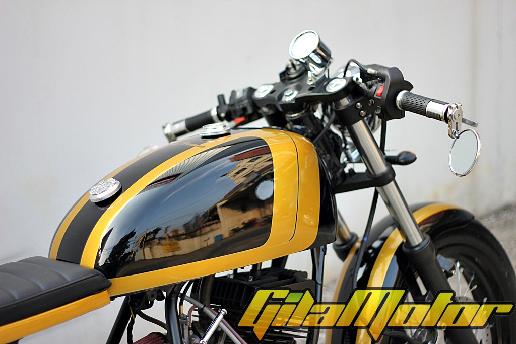 warah modif RX-Z Cafe Racer black yellow handal title=