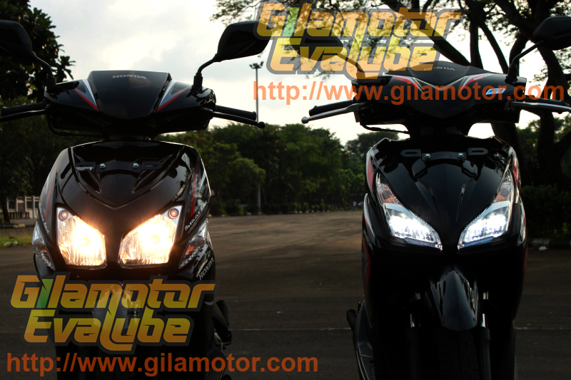 New Vario FI - Dual Keen LED Headlight Hi-Beam