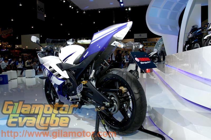 Yamaha YZF-R15 - Sisi Kiri Belakang